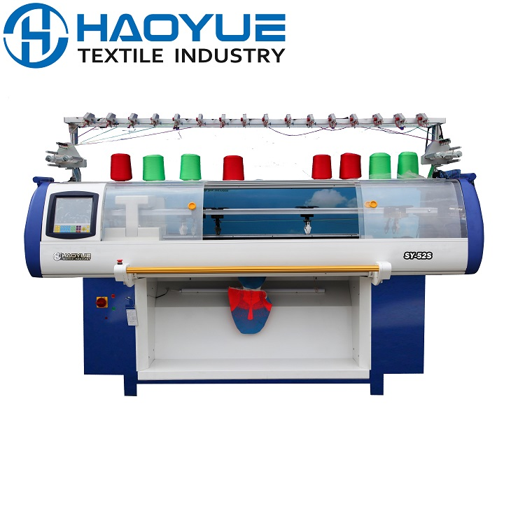 Double system vamp knitting machine