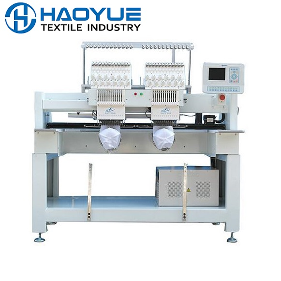 Two head embroidery machine