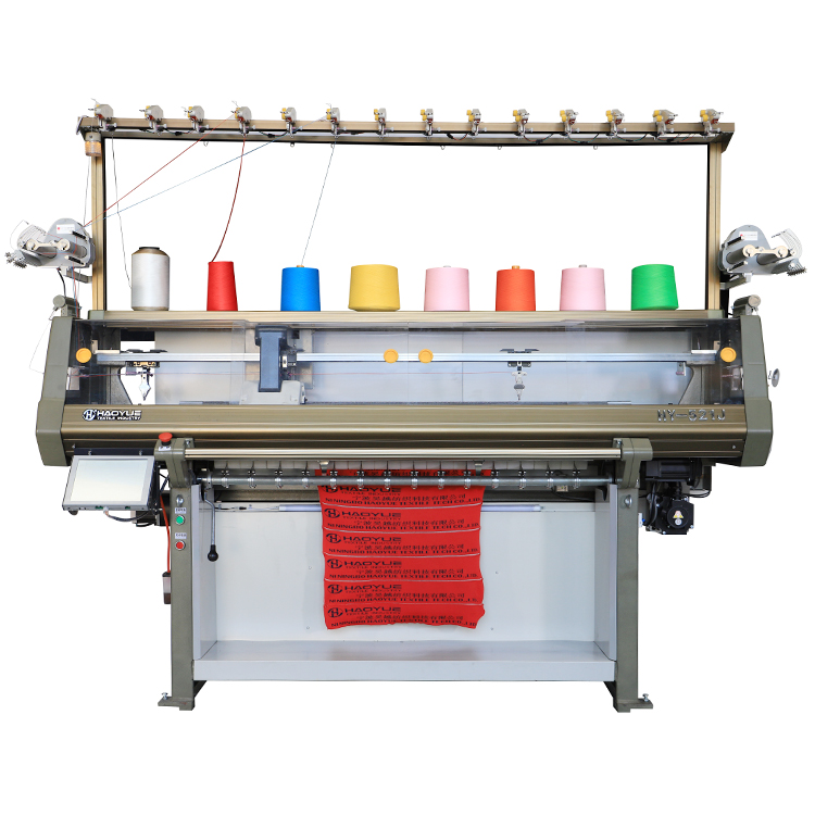1 system Fully jacquard collar knitting machine